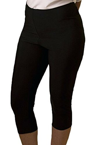 Undercover Water Wear Womens Swim Leggings 2X Black