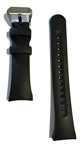 Citizen 59-T50860 Original Promaster Aqualand Black Rubber Band Strap fits BN2020-06E BN2029-01E BN2029-01E BN2021-03E S092183 S092191