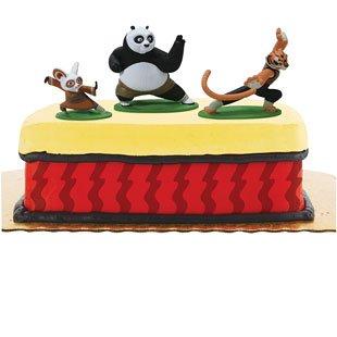 Prime Kung Fu Panda Cake Toppers Funny Birthday Cards Online Alyptdamsfinfo