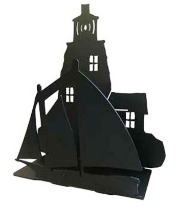 Black-LighthouseSailboat-IndoorOutdoor-Napkin-Holder-Organizer-Made-in-the-USA
