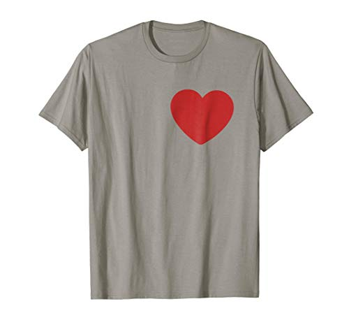 Tin Man Heart T-Shirt Halloween Costume Tee]()