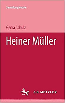 Heiner Müller (Sammlung Metzler)