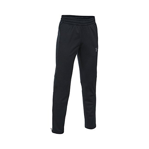 - Under Armour Boys' Select Warm-Up Pants,Black (001)/Graphite, Youth Large