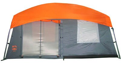 Paha Que Perry Mesa 14-by 10-Foot Eight-Person Tent with Screen Room, Outdoor Stuffs