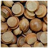WIDGETCO 3/8'' Mahogany Button Top Wood Plugs