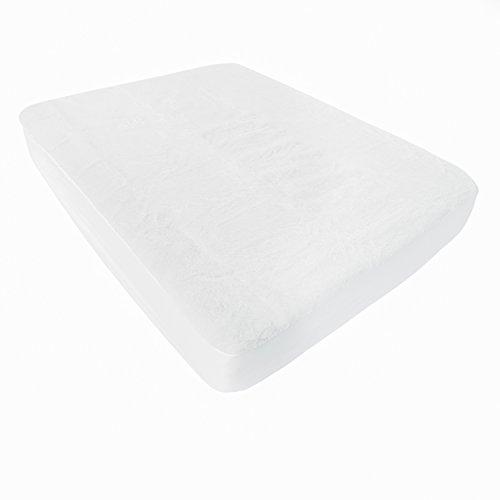 LINENSPA Natural Wool Waterproof Mattress Pad and Protector