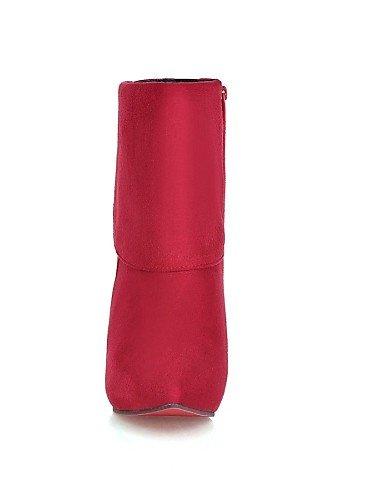 5 Blue Cn43 Eu42 Puntiagudos us9 La Noche Uk8 Mujer Tacón Rojo 5 10 Azul Fiesta Semicuero Red Stiletto Negro Zapatos Uk8 Moda A Xzz Eu41 Botas De Y Cn42 5 8 5 Vestido us10 Uk7 XqSF1wOgx