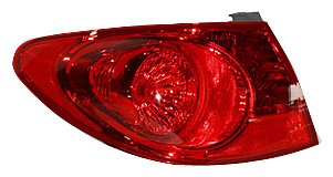 TYC 11-6248-00 Hyundai Elantra Driver Side Replacement Tail Light Assembly