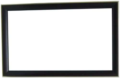 amazoncom alpine art mirror 78232a forest grained framed wall mirror 255 by 405 inch black home kitchen