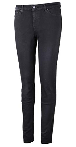 Eclipse Woman 30 Pants Skinny Denim 30 Levi's The 711 Black cgZIqI