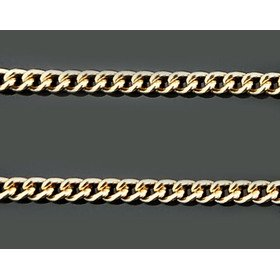 Jewelry-Chains Sterling Silver Gold 24kt Plated Chain 24