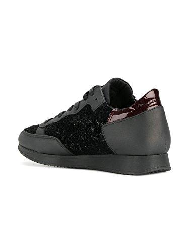 Philippe Model Damer Tlrdgy01 Sort Læder Sneakers lIBsepCZU