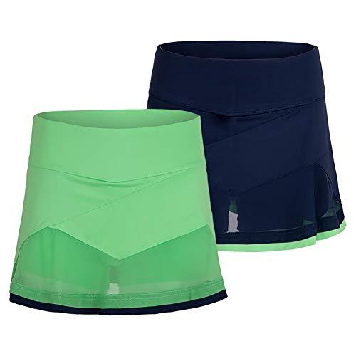 - Bolle Women`s Ripple Effect 14 Inch Tennis Skort (Large Mint Green)