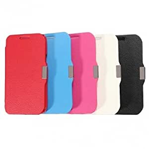 Magnetic Flip PU Leather Case For Samsung Galaxy Core I8260 I8262 --- Color:Red