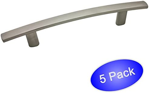 10 Pack 10 Pack 4 Hole Centers 5238SN Cosmas 5238SN Satin Nickel Contemporary Cabinet Hardware Handle Pull