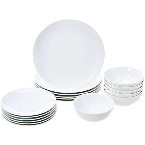 Amazonbasics 18Piece Kitchen Dinnerware