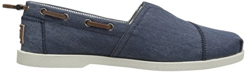 Skechers Bobs From Womens Chill Luxe Flat Dark Navy