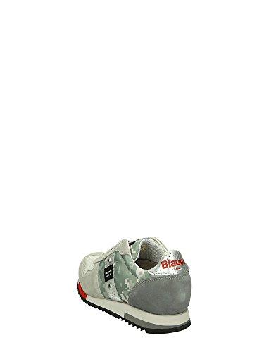 Blauer 7SRUNLOW/PIX Sneakers Bassa Uomo Grigio 44