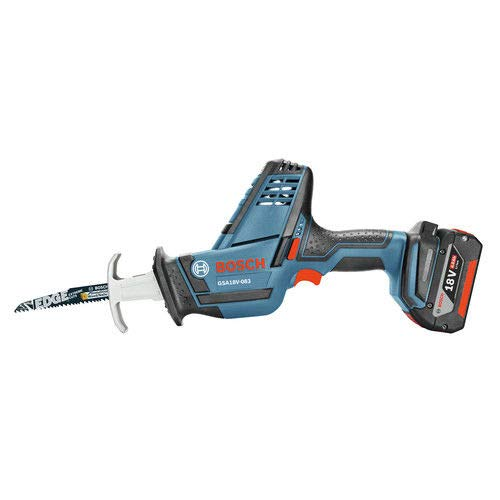 Bosch 18V Compact Cordless Reciprocating Saw, Tool Only (Certified Refurbished)