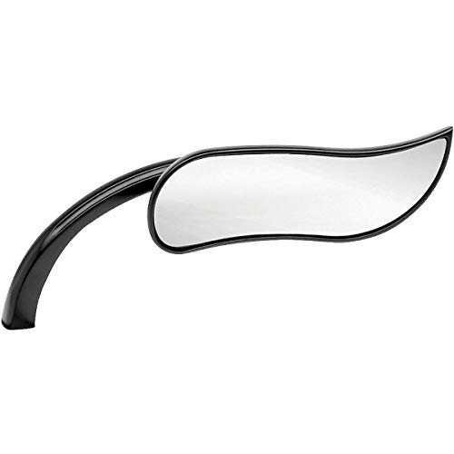 Arlen Ness Upswept Micro Mirror (Right) (Black)