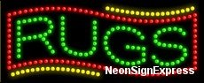 Rugs Led Sign (Rugs LED Sign)