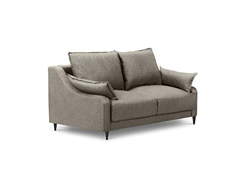 Mazzini Sofas - Sofá de 2 plazas, Color Topo, 150 x 94 x 90 ...