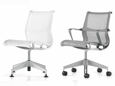 amazoncom herman miller sayl chair home office desk task chair sayl aluminum chrome work chair with fully adjustable black arms tilt limiter and - Sayl Chair