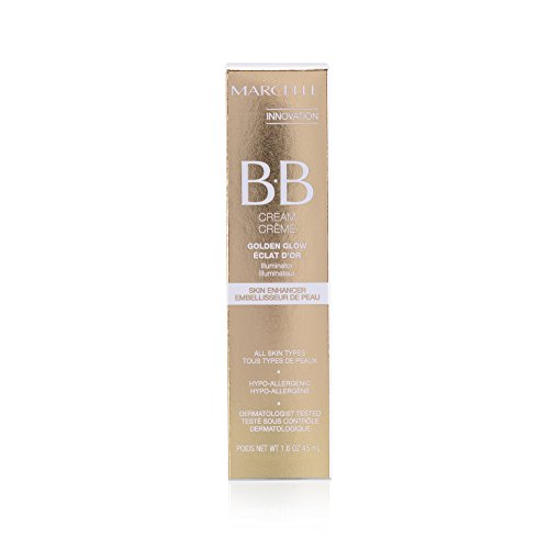 Bb Foundation Cream (Marcelle BB Cream Golden Glow, Universal Shade, Hypoallergenic and Fragrance-Free, 1.6 fl oz)