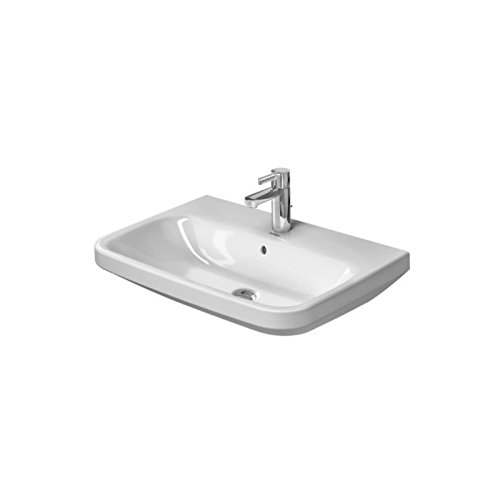 (Duravit 2319650000 - Washbasin 65 cm DuraStyle white with OF. with TP, 1)