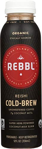 REBBL INC: Elixir Reishi Cold Brew, 12 fl oz-5 PACK by REBBL INC: (Image #4)