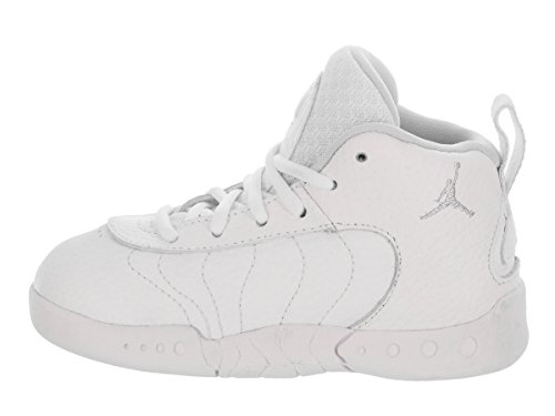 Jordan Nike Toddlers Jumpman Pro BT Basketball Shoe White/Pure Platinum