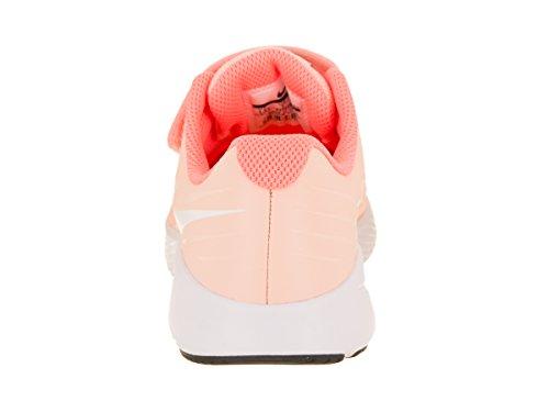 Nike Girl's Star Runner (PSV) Pre-School Shoe Crimson Tint/White/Crimson Pulse/Black Size 1.5 M US by Nike (Image #3)