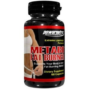 Metabo Fat Burner - 60 Capsules Extreme Fat Burner Lipotropics Formule L-Carnitine Pills Weight Loss Diet