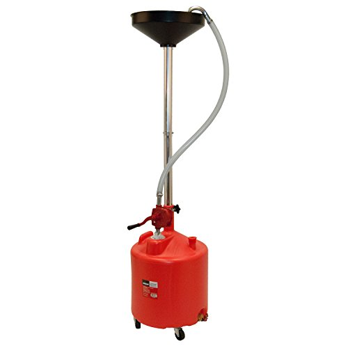 (OEMTOOLS 25897 Portable Upright Oil Drain with Pump (8 Gallon))
