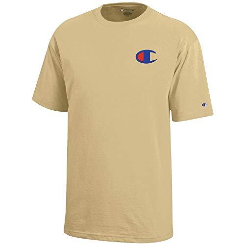 Champion Reverse Weave Logo Youth (Vegas Gold) Short Sleeve T-Shirt ()