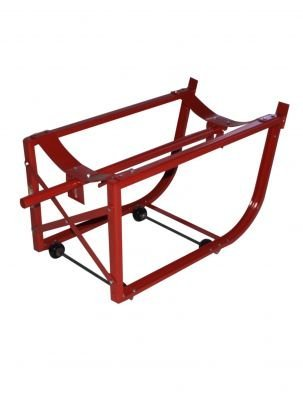 Milwaukee Hand Trucks 40158 55-Gallon Drum Cradle with Wheels