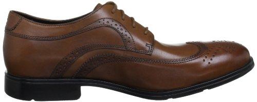 Rockport Men's Fairwood 2 Wingtip - Zapatos con cordones para hombre Marrón (Light Tan)