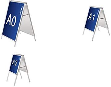 DIN A1 glasklar MAUL 66381-05 Ersatzfolie f/ür Kundenstopper