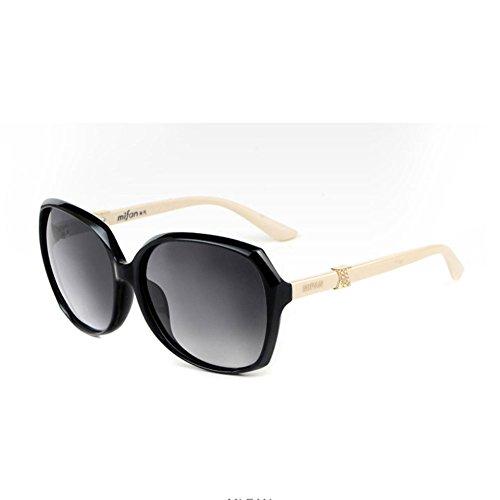 3 Gafas de Gafas Color Sol Sol Femeninas Gafas Coreanas DT de Delgadas 1 polarizadas Z7HInUIx