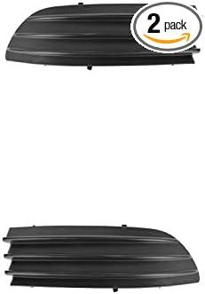 FOG LIGHT COVER TEXTURED DARK GREY LH TO1088109 FRONT BUMPER GRILLE PANEL FILLER