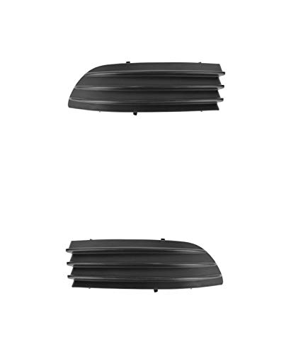 (Fog Light Cover - Cooling Direct Fit/For TO1089109; TO1088109 04-05 Toy Sienna Front Bumper Filler Panel Pair Left and Right (Grille On Bmp))