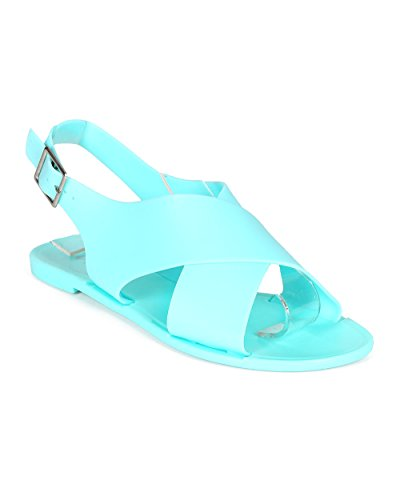 qupid jelly sandals - 5