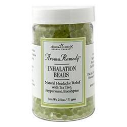 (Aromafloria AromaRemedy Head Aid Relief Inhalation Beads, 2.5 oz)