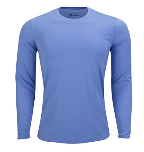 Nike Mens Longsleeve Legend - Columbia Blue - Large
