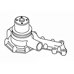AT11918 New Water Pump (Liquid Gasket) made to fit