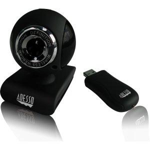 2LE5820 - Adesso CyberTrack V10 Webcam - 0.3 Megapixel - USB 2.0
