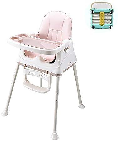 HEEGNPD - Asiento Plegable para Mesa y Silla de bebé con Silla de Ruedas Universal y Fundas para Trona