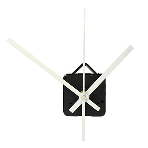 - Glumes White Clock Replacement Include Hands Quartz DIY Wall Clock Movement Mechanism Battery Operated DIY Repair Parts Replacement for Clock Repair