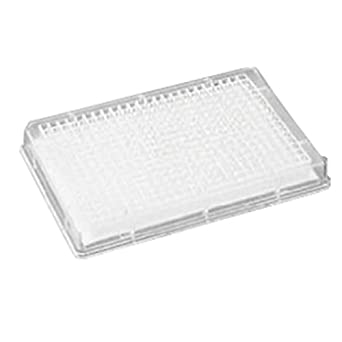 Whatman 7700-2110 Polystyrene 384 Well PCR Clean Microplate, With Filter Bottom and Long Drip Director, 100 microliter, DNA Binding Filter Media (Pack of 50