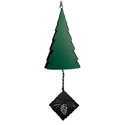 (North Country Wind Bells Cadillac MountainTM with Pine Cone - 3 Tones)